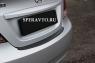 Накладка на бампер задний для Hyundai Solaris седан 2010-2014 г.в