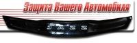 Дефлектор капота (мухобойка) на Honda Jazz II 2008-...г.в.