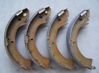 Тормозные колодки задние барабанные для Mitsubishi Pajero I 1989-1991 г.в.
