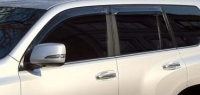 Дефлекторы окон (ветровики) для Lexus GX 460