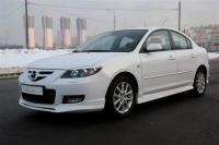 Накладки на пороги (внешние) для Mazda 3 седан