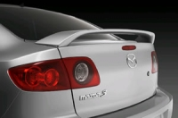 Спойлер на крышку багажника для Mazda 3 седан
