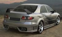 Бампер задний EXE для Mazda 6 седан 2002-2008 г.в.