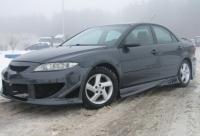 Накладки на пороги (внешние) EXE для Mazda 6 седан 2002-2008 г.в.