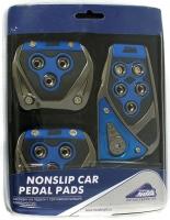 Накладки на педали Nova Bright синие (арт. 33751)