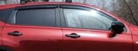 Дефлекторы окон (ветровики) для Nissan Qashqai (2007-... г.в.)