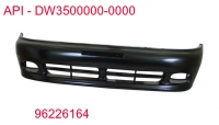 Бампер передний на Chevrolet Lanos/Daewoo Lanos (1998 г.в)