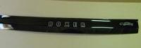 Дефлектор капота (мухобойка) на Peugeot Boxer III 2006-...г.в.