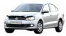 Дефлектор капота (мухобойка) на Volkswagen Polo V  2010-...г.в. седан