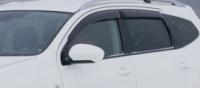 Дефлекторы окон (ветровики) для Nissan Qashqai+2 (2008-... г.в.)