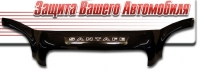 Дефлектор капота (мухобойка) на Hyundai Santa Fe I Classic 2007-...г.в. сборка ТАГАЗ