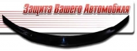 Дефлектор капота (мухобойка) на Subaru Impreza III 2007-2011 г.в.