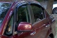 Дефлекторы окон (ветровики) для Suzuki SX4 (2007-... г.в.) седан