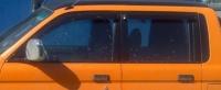 Дефлекторы окон (ветровики) для Mitsubishi L200 (1996-2006 г.в.)