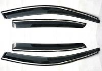 Дефлекторы окон (ветровики) для хетчбэка Chevrolet Cruze (2011-... г.в.)