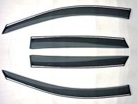 Ветровики (дефлекторы окон) на BMW 1 серии E-87 (2004-... г.в.) 5-дверный