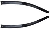Дефлекторы окон (ветровики) для Honda Civic VIII (2006-2011 г.в.) 3 дв. хэтчбек