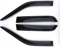 Дефлекторы окон (ветровики) для Jeep Wrangler Unlimited JK (2007-... г.в.) 5 дв.
