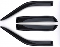Ветровики (дефлекторы окон) на BMW X6 E-71/E-72 (2008-... г.в.)