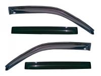Дефлекторы окон (ветровики) для Skoda Octavia II (2004-... г.в.) седан